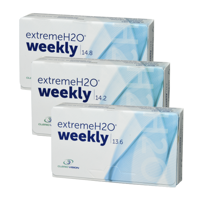 Extreme H2O Weekly packaging